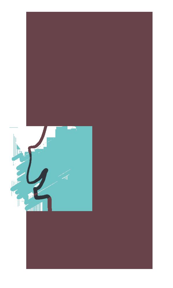 Mapa de Portugal com a zona de Lisboa preenchida